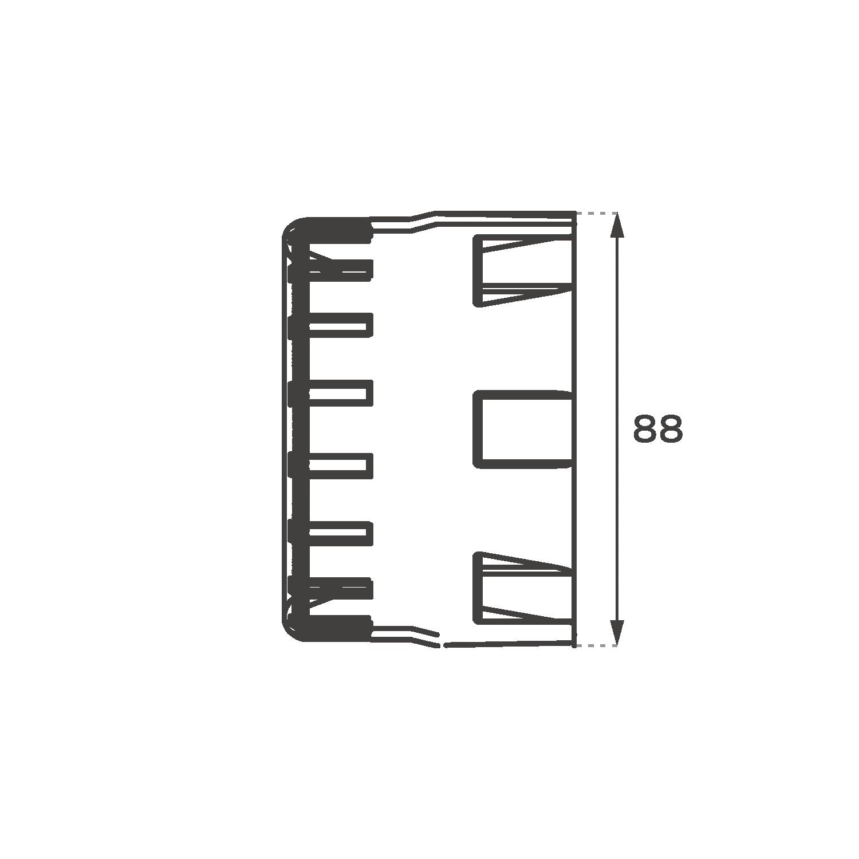 Mini Graphite Morimoto HID Projector Shrouds Tough & Stylish