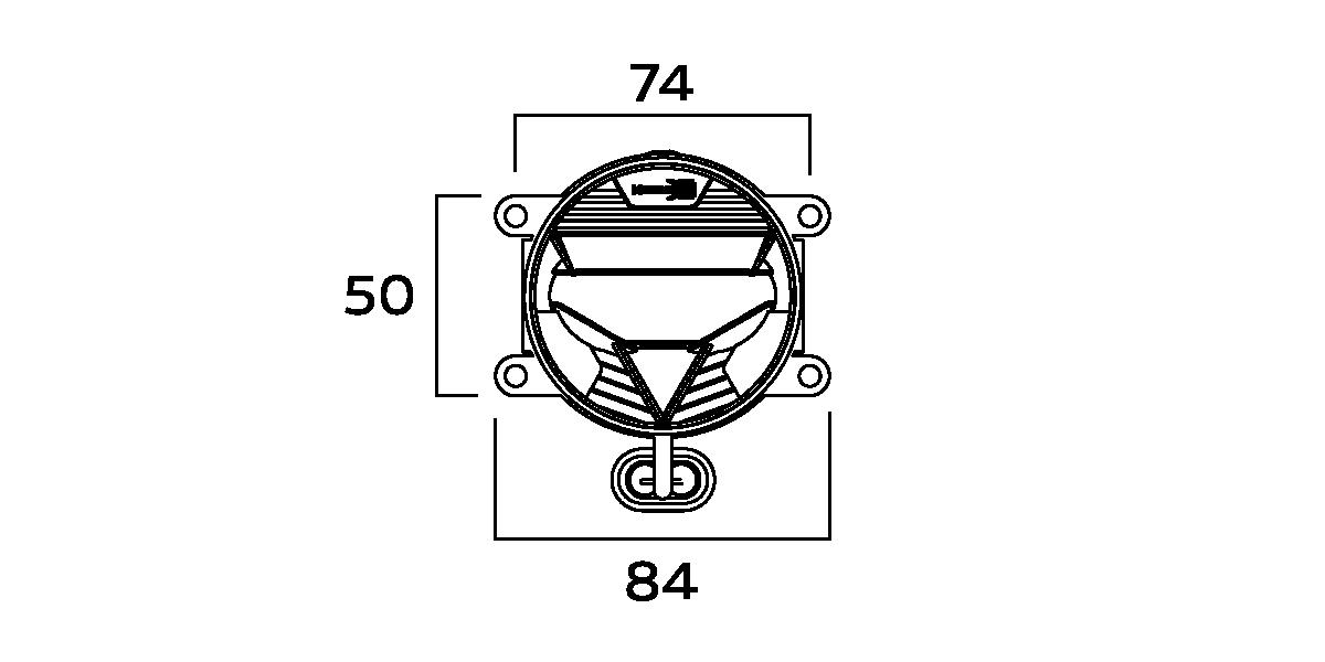 Universal: Morimoto XB LED (70mm) Projector Fog Lights