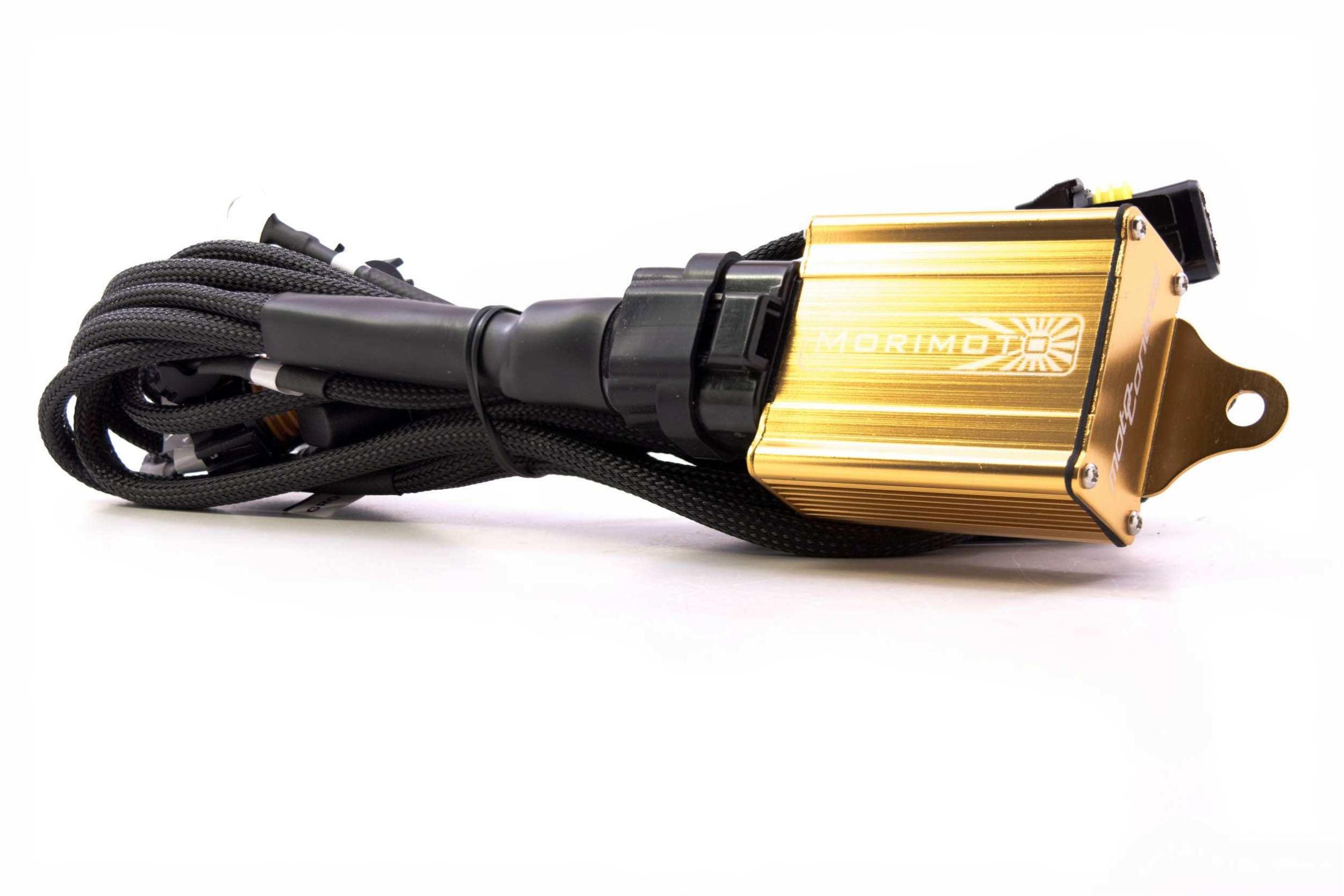 MotoControl Bi-Xenon: H4/9003 Hi/Lo Relay Wire Harness [ 1667 x 2500 Pixel ]